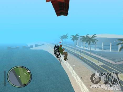 Wings-Wings for GTA San Andreas fifth screenshot