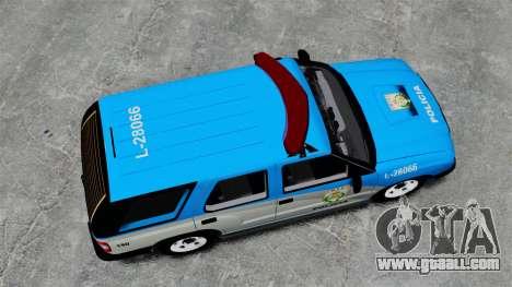 Chevrolet Blazer 2010 PMERJ ELS for GTA 4 right view