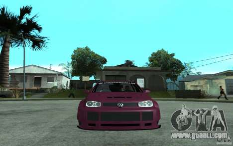 Volkswagen Golf GTI 4 Tuning for GTA San Andreas right view