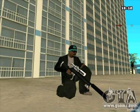 Chrome Weapon Pack for GTA San Andreas sixth screenshot
