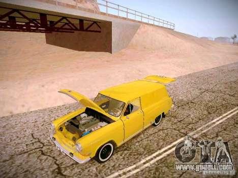 GAS 22B Van for GTA San Andreas side view