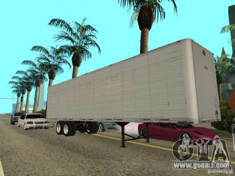 American Trailers Pack for GTA San Andreas back left view