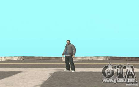 Animation of GTA IV for GTA San Andreas