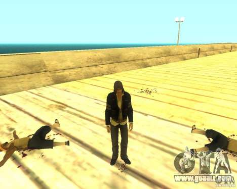 Alex Mercer ORIGINAL for GTA San Andreas third screenshot