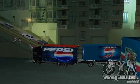 Pepsi Market and Pepsi Truck for GTA San Andreas