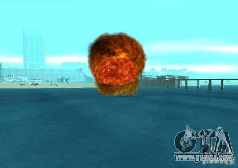 New effects of explosions for GTA San Andreas eleventh screenshot