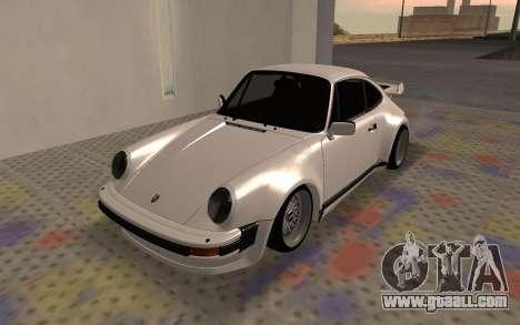 Porsche 911 Turbo for GTA San Andreas