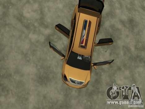 Lexus RX400 New York Taxi for GTA 4 wheels