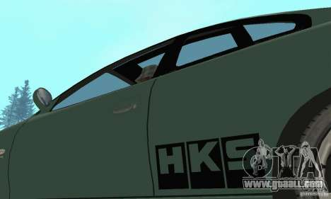 Vauxhall Monaro VXR Open SKY 2004 for GTA San Andreas side view