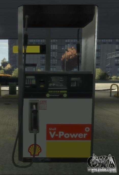 Shell Petrol Station for GTA 4 eighth screenshot