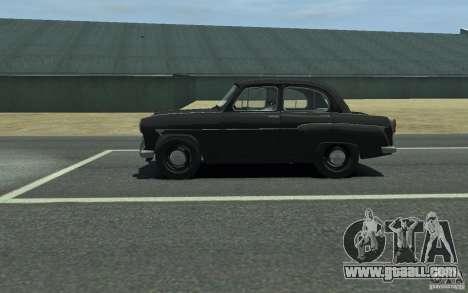 Moskvitch 407 v2.0 for GTA 4 left view