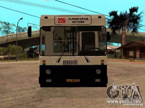 LIAZ 5256.00 for GTA San Andreas right view
