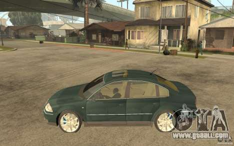 Volkswagen Passat B5+ W8 4Motion for GTA San Andreas left view
