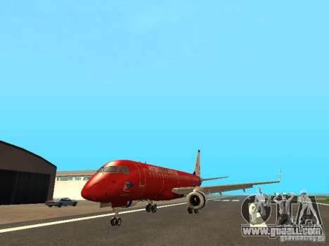 Embraer ERJ 190 Virgin Blue for GTA San Andreas