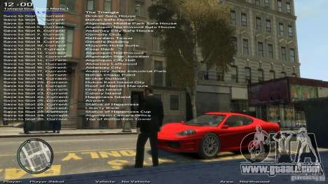 Simple Trainer Version 6.2 for 1.0.1.0-1.0.0.4 for GTA 4 eighth screenshot