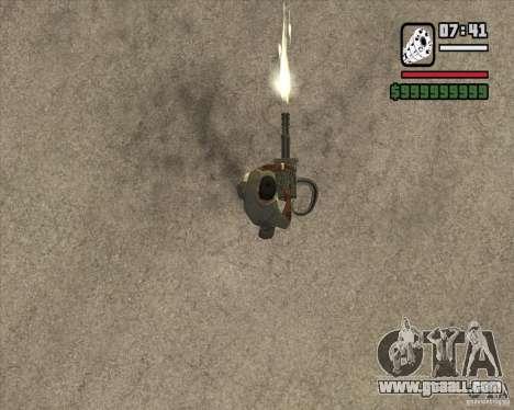 Hand Held M134 Minigun for GTA San Andreas third screenshot