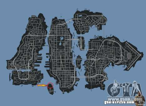 Demolition Derby Arena (Happiness Island) for GTA 4 seventh screenshot