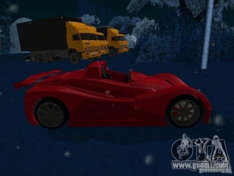 Lada Revolution for GTA San Andreas left view