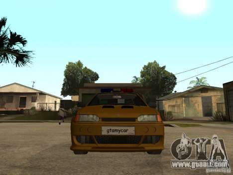 VAZ 2115 Police Car Tuning for GTA San Andreas right view