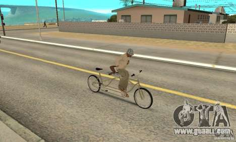 double classic MT Bike for GTA San Andreas