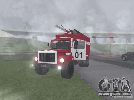GAZ 3309 Fire for GTA San Andreas