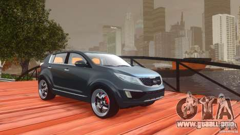 Kia Sportage 2010 v1.0 for GTA 4 upper view