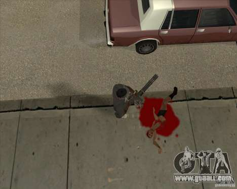 Real Ragdoll Mod Update 02.11.11 for GTA San Andreas forth screenshot