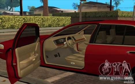 Mercury Grand Marquis 2006 for GTA San Andreas