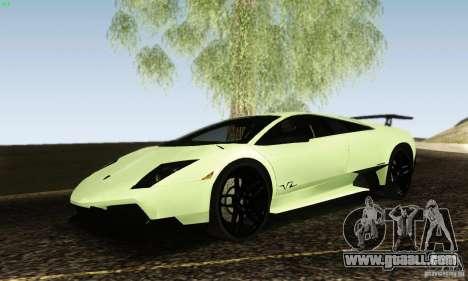 Lamborghini Murcielago LP 670-4 SV for GTA San Andreas right view