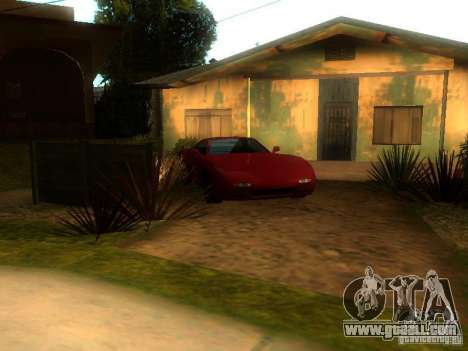 New Car in Grove Street for GTA San Andreas second screenshot