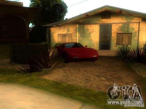 New Car in Grove Street for GTA San Andreas second screenshot