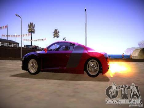 Effects of exhaust pipe for GTA San Andreas third screenshot