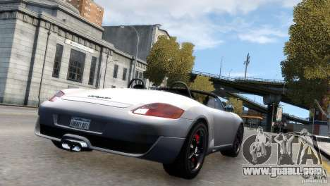 RUF RK Spyder 2006 [EPM] for GTA 4 left view