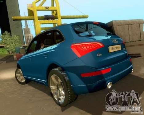 Audi Q5 for GTA San Andreas upper view