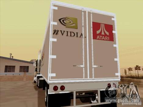 Caband trailer for GTA San Andreas right view
