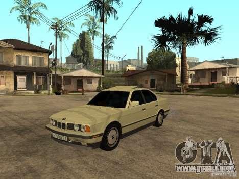 BMW 520i for GTA San Andreas