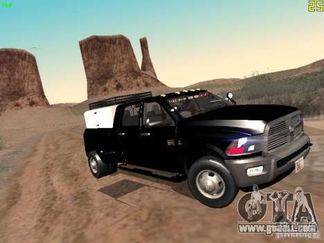 Dodge Ram 3500 Unmarked for GTA San Andreas