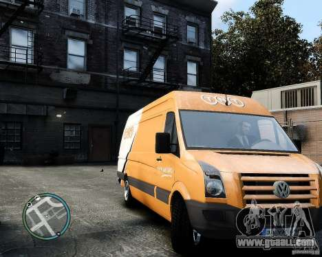 Volkswagen Crafter TNT for GTA 4 left view
