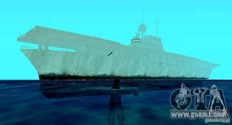 Battle Ship for GTA San Andreas third screenshot