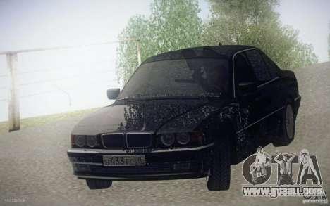 BMW 750i E38 2001 for GTA San Andreas