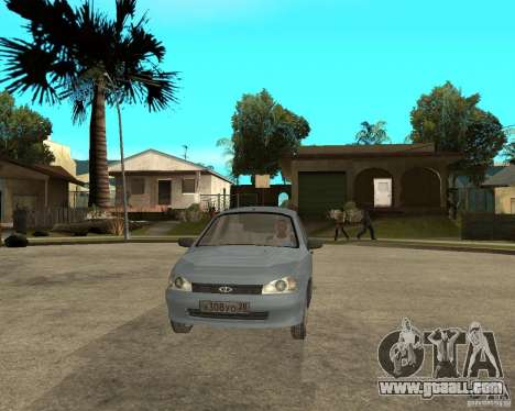VAZ 1118 Kalina for GTA San Andreas