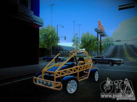 Buggy From Crash Rime 2 for GTA San Andreas