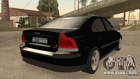 Volvo S60R for GTA San Andreas right view