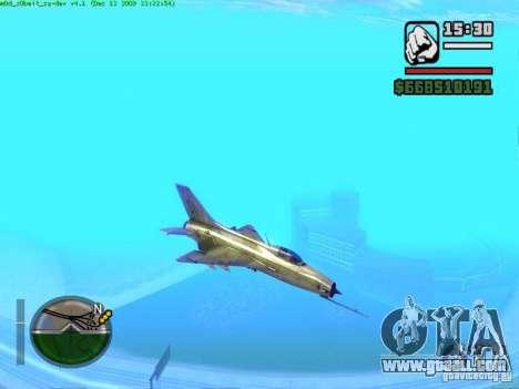 MIG 21 new for GTA San Andreas