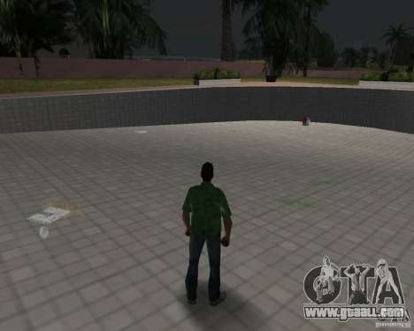 New water, newspapers, leaves, Moon for GTA Vice City seventh screenshot