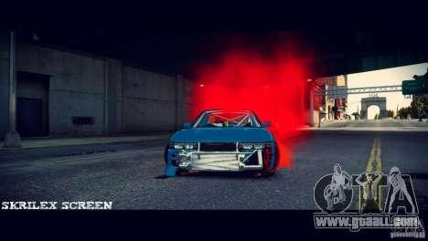 Red smoke under the wheels for GTA 4 third screenshot