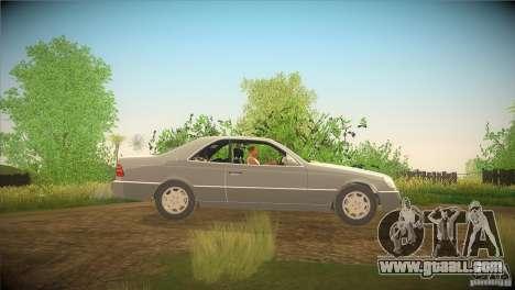 Mercedes Benz 600 SEC for GTA San Andreas left view