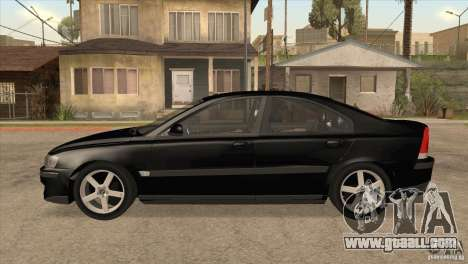 Volvo S60R for GTA San Andreas left view
