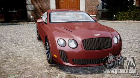 Bentley Continental SS v2.1 for GTA 4