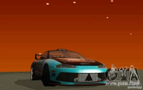 Mitsubishi Eclipse Elite for GTA San Andreas left view